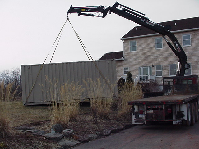 20' Crane Truck Delivery
