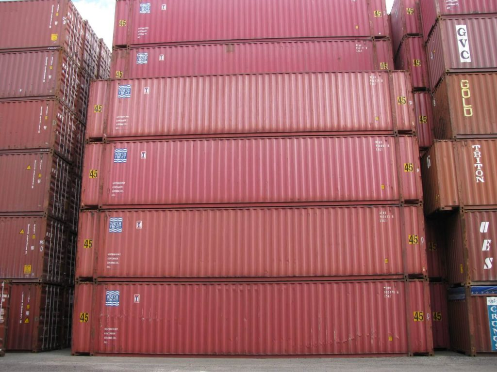 45' Used Shipping Container for sale
