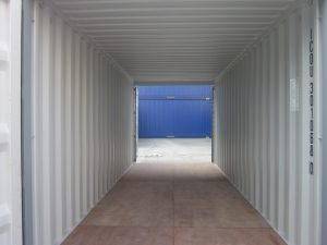 20' double door storage container
