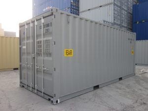 20' Double door storage containers for sale