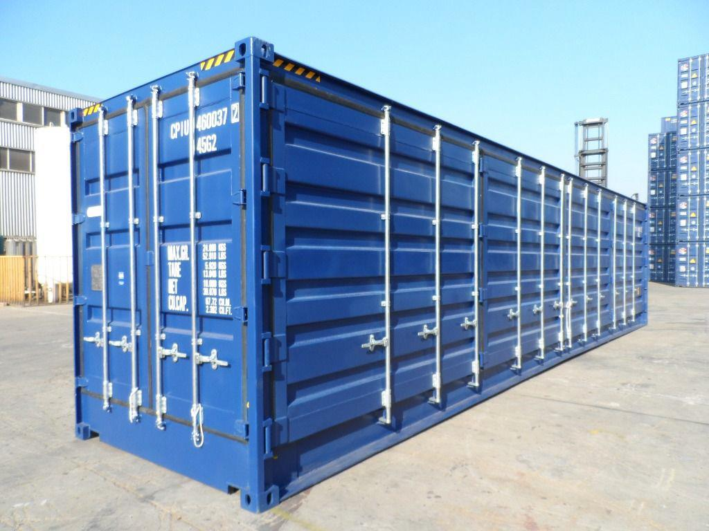 40' Side opening High Cube containers